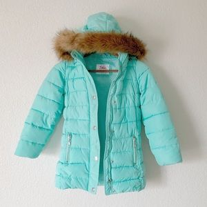 JUSTICE Puffer Coat with Hood